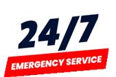 everyday 24/7 emergency service badge